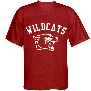 Wildcat Jersey w/ Back Unisex Augusta Replica Football Jersey