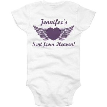 Jen's from Heaven Infant Gerber Onesies