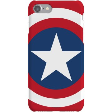 Super Hero iPhone Case Plastic iPhone 5 Case Black