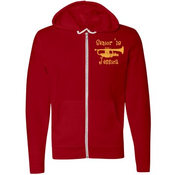 Band Senior 2013 Unisex Gildan Heavy Blend Full Zip Hoodie