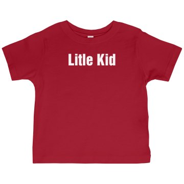Little Kid Tee Infant Rabbit Skins Cotton Tee