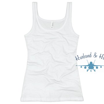 Husband &amp; Hero Junior Fit Basic Bella 2x1 Rib Tank Top