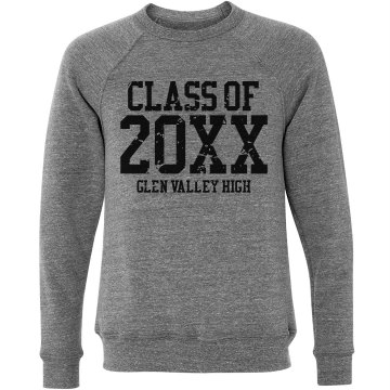 Senior Sweatshirt Unisex Canvas Triblend Crew