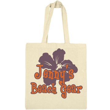 Jenny's Beach Gear Liberty Bags Canvas Bargain Tote Bag