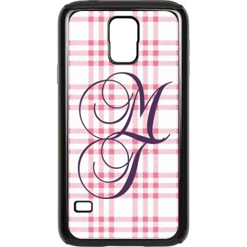 Monogram Plaid Rubber Samsung Galaxy S III Case Black