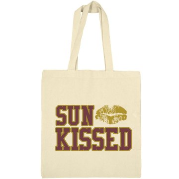 Sun Kissed Tote Liberty Bags Canvas Bargain Tote Bag