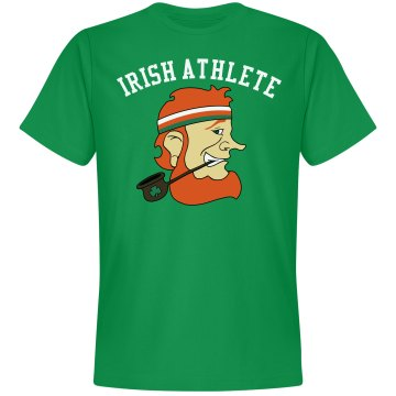Irish Athlete Unisex Gildan Heavy Cotton Crew Neck Tee