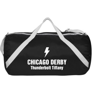 Roller Derby Team Augusta Sport Roll Bag