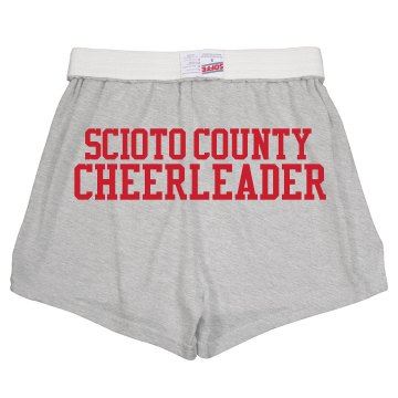 Youth Cheer Soffe Short Youth Soffe Cheer Shorts