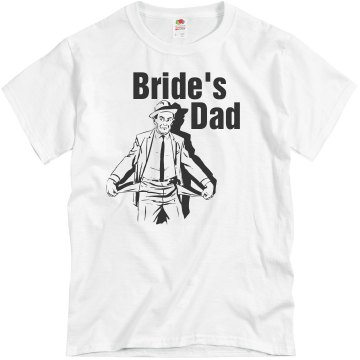 Bride's Dad Unisex Basic Gildan Heavy Cotton Crew Neck Tee