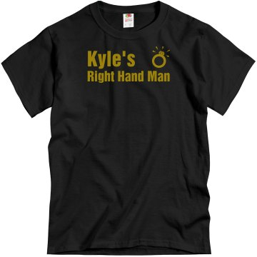 Kyle&#x27;s Best Man Unisex Gildan Heavy Cotton Crew Neck Tee