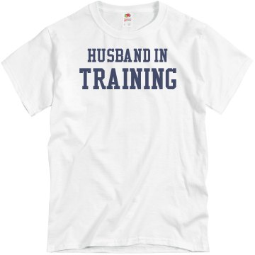 In Training Husband Unisex Basic Gildan Heavy Cotton Crew Neck Tee