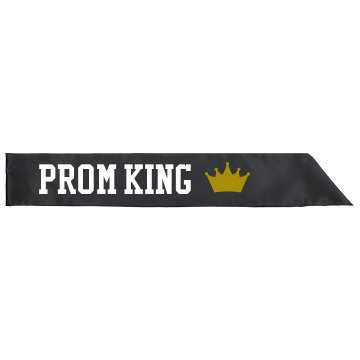 Prom King Sash Adult Satin Party Sash