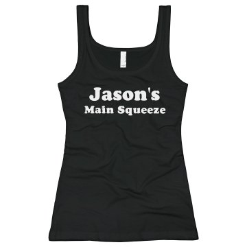Jason's Main Squeeze Junior Fit Bella Sheer Longer Length Rib Tank Top