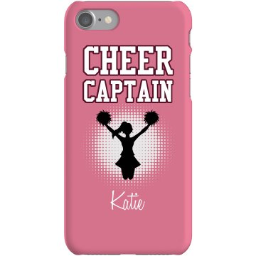 Cheerleader Captain Case Plastic iPhone 5 Case Black