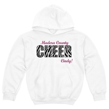 Madera County Cheerleader Youth Gildan Heavy Blend Hoodie