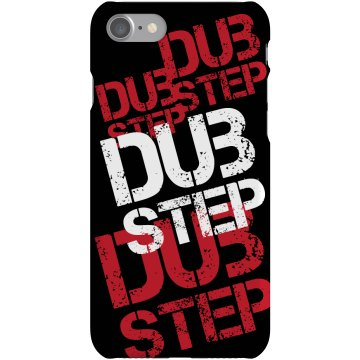 Dubstep Pattern iPhone Plastic iPhone 5 Case Black