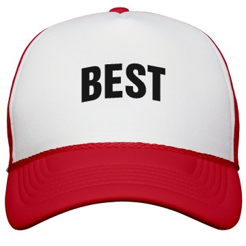 Best Friends Hat -Best KC Caps Poly-Foam Snapback Trucker Hat