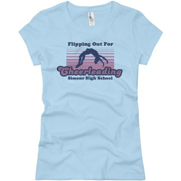 Simone High Cheerleading Junior Fit Basic Bella Favorite Tee