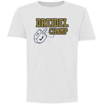 Dreidel Champ Youth Tee Youth Anvil 3&#x2F;4 Sleeve Raglan Baseball Tee