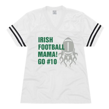 Irish Football Jersey Junior Fit Soffe Mesh Football Jersey