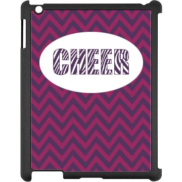 Zebra Cheer iPad Case Black iPad Snap-on Case