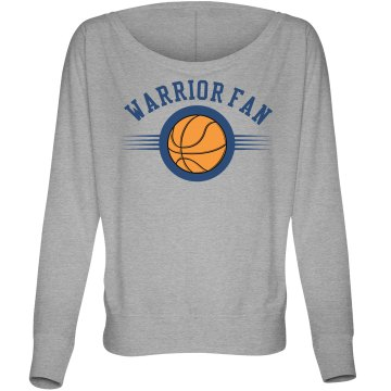 Basketball Fan Tee Misses Bella Flowy Lightweight Relaxed Dolman Tee
