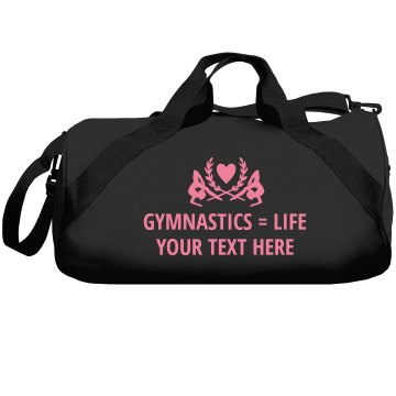 Gymnastics Equals Life Augusta Sport Roll Bag