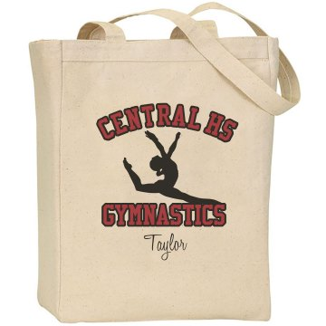 Central HS Gymnast Port & Company Large Square Duffel Bag