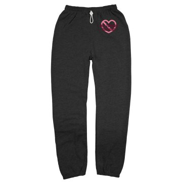 Not Tonight Sweats Unisex Gildan Ultra Blend Open Bottom Pocketed Sweatpants