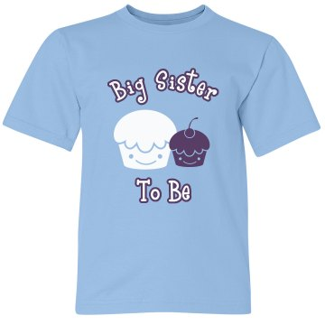 Big Sister To Be Tank Youth Bella Girl 1x1 Rib Tank Top