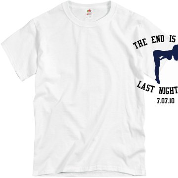 The End Is Near! Unisex Basic Gildan Heavy Cotton Crew Neck Tee