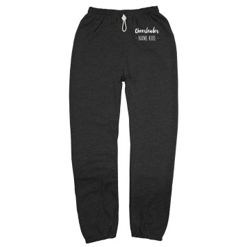 Sam's Cheer Sweatpants Unisex Gildan Ultra Blend Open Bottom Pocketed Sweatpants