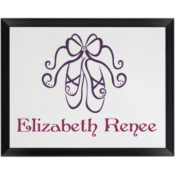 Ballet Plaque Wood Plaque