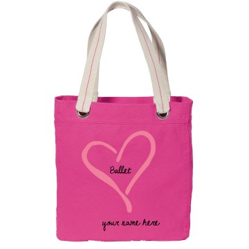 Ballet Sling Bag Port Authority Color Canvas Tote