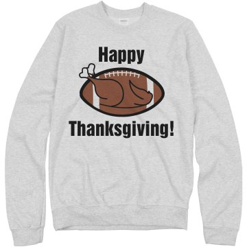 Happy Thanksgiving Tee Junior Fit Bella Long Sleeve Crewneck Jersey Tee