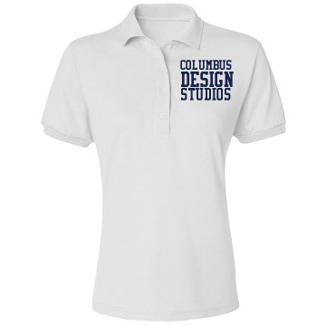 Design Studio Polo Misses Relaxed Fit IZOD Silkwash Stretch Polo