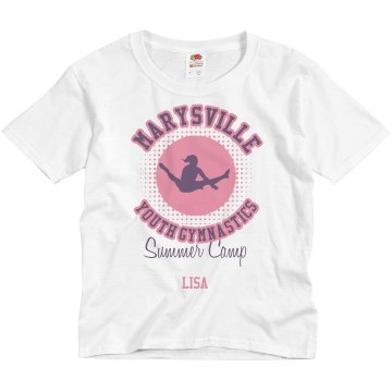 Marysville Youth Camp Youth Basic Gildan Ultra Cotton Crew Neck Tee