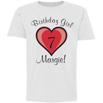 7th Birthday Shirt