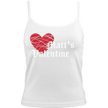 Matt's Valentine Bella Junior Fit Camisole