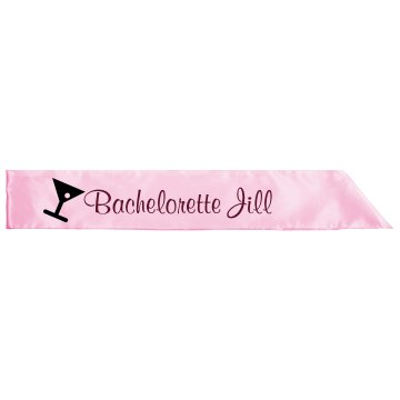 Bachelorette Party Sash Adult Satin Party Sash