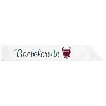 I'm the Bachelorette Adult Satin Party Sash