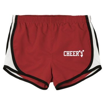 Wildcats Cheer Shorts Junior Fit Soffe Cheer Shorts