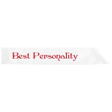 Class Favorites Sash Adult Satin Party Sash