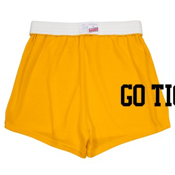 Go Tigers Shorts Junior Fit Soffe Cheer Shorts