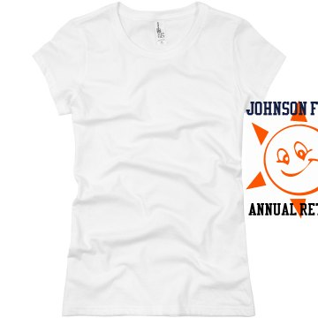 Johnson Family Retreat T Junior Fit Basic Bella Favorite Tee