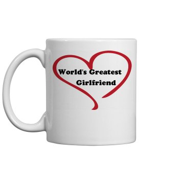 Greatest Girlfriend 11oz Ceramic Coffee Mug