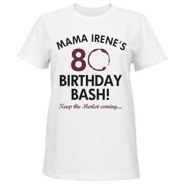 80th Birthday Bash