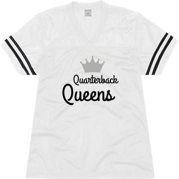 Quarterback Queens Junior Fit Soffe Mesh Football Jersey