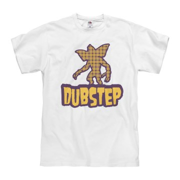 Dubstep Gremlin Unisex Basic Gildan Heavy Cotton Crew Neck Tee